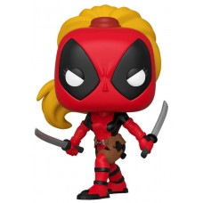 Фигурка Funko POP! Bobble: Marvel: Marvel 80th: Lady Deadpool (Эксклюзив)