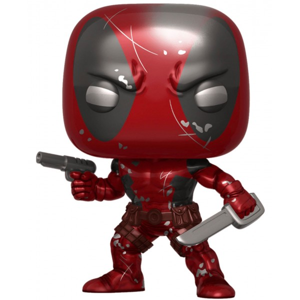 Фигурка Funko POP! Bobble: Marvel: 80th: First Appearance Deadpool (MT) (Эксклюзив)