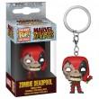 Брелок Funko Pocket POP! Marvel: Zombie Deadpool