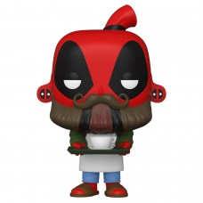 Фигурка Funko POP! Bobble: Marvel: Barista Deadpool