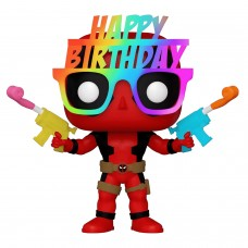 Фигурка Funko POP! Bobble: Marvel: 30th Birthday Glasses Deadpool (Exc)