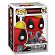 Фигурка Funko POP! Bobble: Marvel: 30th Deadpool Construction Worker (Exc)