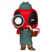 Фигурка Funko POP! Bobble: Marvel: 30th Sherlock Deadpool (Exc)