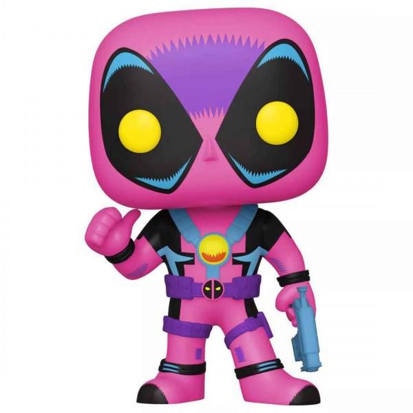 Фигурка Funko POP! Bobble: Marvel: Black Light Deadpool (Exc)