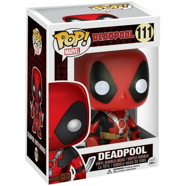 Фигурка Funko POP! Bobble: Marvel: Deadpool Two Swords