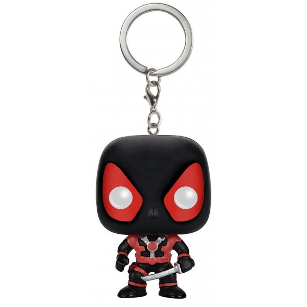 Брелок Funko Pocket POP! Keychain: Marvel: Black Deadpool