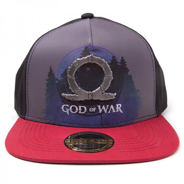 Бейсболка Difuzed: God Of War: Sublimation Print Metal Badge