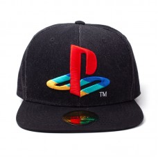 Бейсболка Playstation: Logo Denim