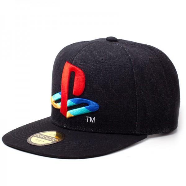 Бейсболка Difuzed: Playstation: Logo Denim