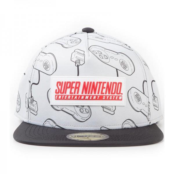 Бейсболка Difuzed: с логотипом Nintendo SNES