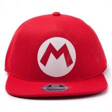 Бейсболка Nintendo: Super Mario Badge Seamless