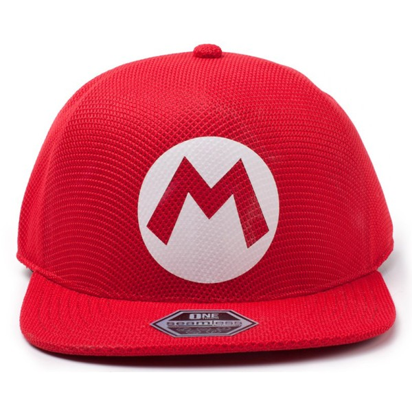 Бейсболка Difuzed: Nintendo: Super Mario Badge Seamless