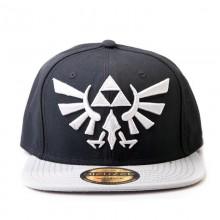 Бейсболка Zelda: Twilight Princess With Grey Triforce Logo