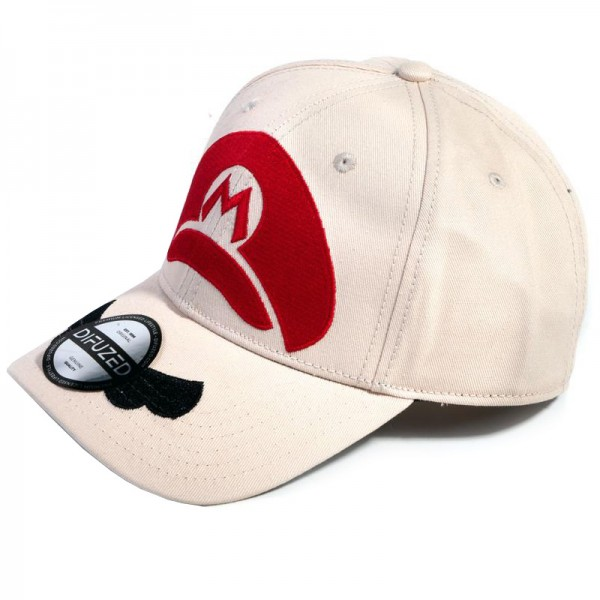 Бейсболка Difuzed: Nintendo: Super Mario Minimal