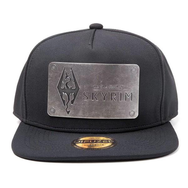 Бейсболка Difuzed: Skyrim: Dovakiin Logo Metal Plate