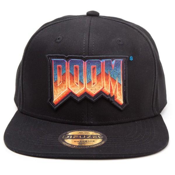 Бейсболка Difuzed: DOOM: Logo Snapback