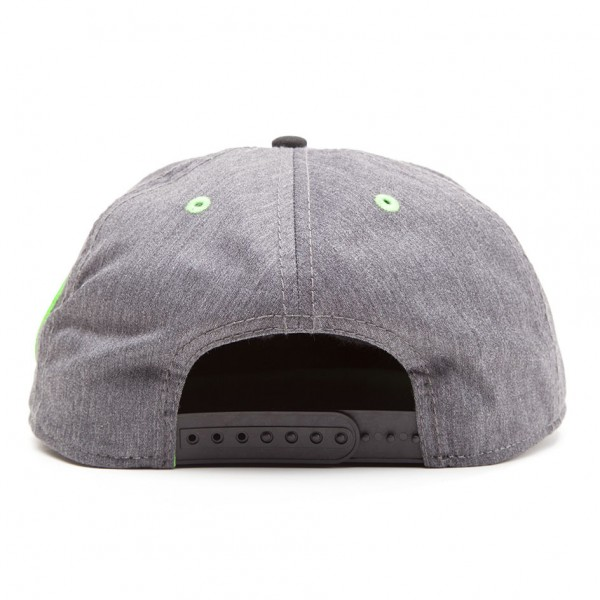 Бейсболка Difuzed: Nintendo: Super Mario Grey Snapback With Yoshi And Egg