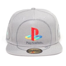 Бейсболка Playstation: Silver Logo Snapback