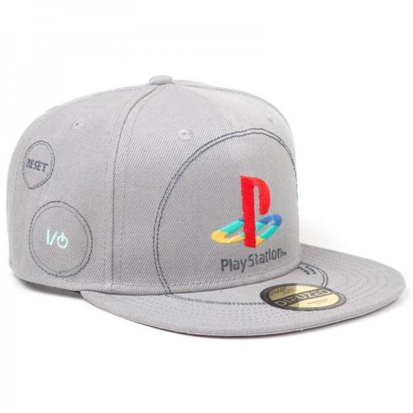 Бейсболка Difuzed: Playstation: Silver Logo Snapback