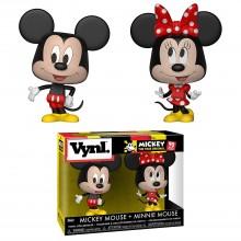 Фигурка Funko VYNL: Disney: 2PK Mickey & Minnie