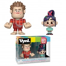 Фигурка Funko VYNL: Disney: Wreck it Ralph 2: Wreck-It Ralph & Vanellope