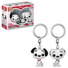 Брелок Funko POP! Keychain: Disney: Dalmations: 2PK Pongo & Perdita
