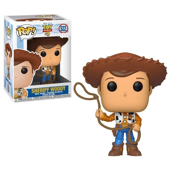 Фигурка Funko POP!  Toy Story 4: Шериф Вуди