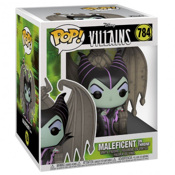 Фигурка Funko POP! Deluxe: Disney: Villains: Maleficent on Throne