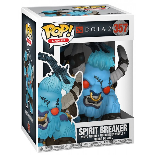 Фигурка Funko POP! Vinyl: Games: Dota 2 S1: Spirit Breaker w/ Mace