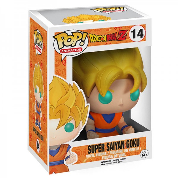 Фигурка Funko POP! Vinyl: Dragon Ball Z: Super Saiyan Goku