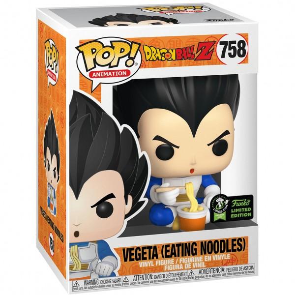 Фигурка Funko POP! Vinyl: Dragon Ball Z: Vegeta Eating Noodles (Эксклюзив)
