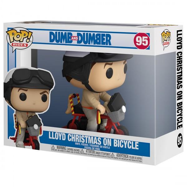 Фигурка Funko POP! Rides Dumb and Dumber: Lloyd Christmas with Bicycle