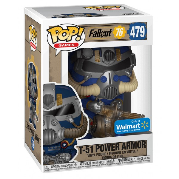 Фигурка Funko POP! Vinyl: Games: Fallout 76: T-51 Power Armor (Эксклюзив)