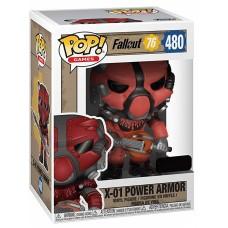 Фигурка Funko POP! Vinyl: Games: Fallout 76: X-01 Power Armor (RD) (Эксклюзив)