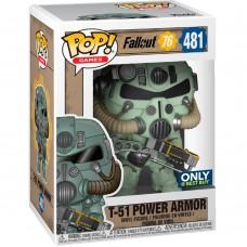 Фигурка Funko POP! Vinyl: Games: Fallout: T-51 Power Armor (GRN) (Эксклюзив)