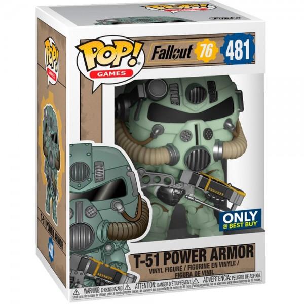 Фигурка Funko POP! Vinyl: Games: Fallout: T-51 Power Armor (Эксклюзив)