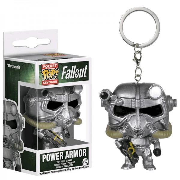 Брелок Funko Pocket POP! Keychain: Fallout: Power Armor