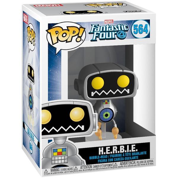 Фигурка Funko POP! Bobble: Marvel: Fantastic Four: H.E.R.B.I.E.