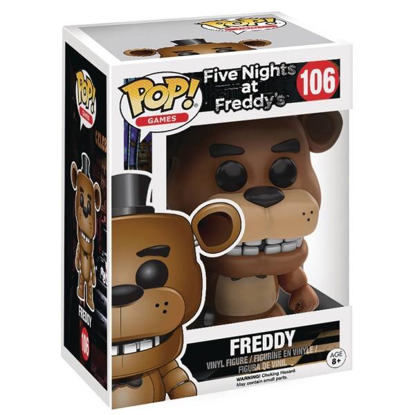 Фигурка Funko POP! Vinyl: Games: FNAF: Freddy