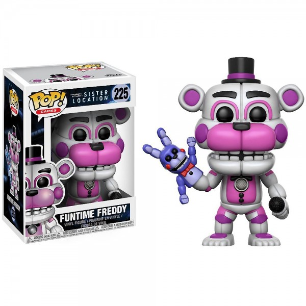 Фигурка Funko POP! FNAF: Sister Location: Funtime Freddy