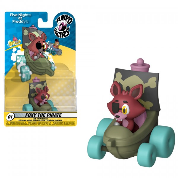 Фигурка Funko Vinyl Figure: Funko Racers: FNAF: Foxy the Pirate
