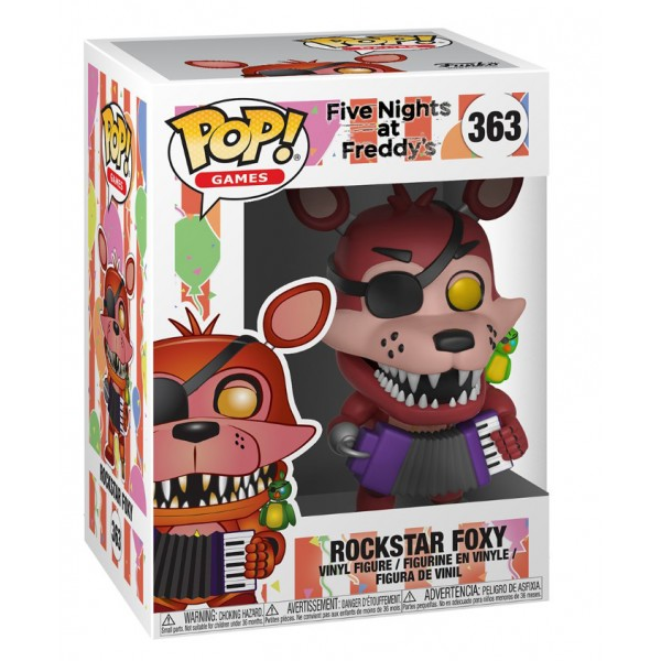 Фигурка Funko POP! Vinyl: Books: FNAF Pizza: Rockstar Foxy