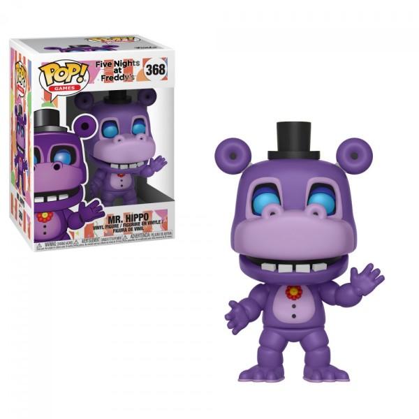 Фигурка Funko POP! FNAF Pizza: Mr. Hippo из игры 5 ночей с Фредди