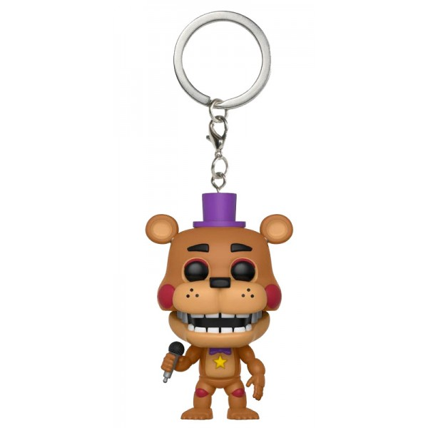 Брелок Funko Pocket POP!: FNAF: Rockstar Freddy (Рок звезда Фредди)