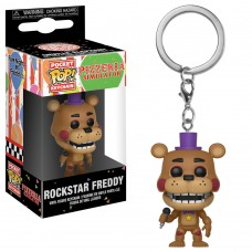 Брелок Funko Pocket POP!: FNAF: Rockstar Freddy
