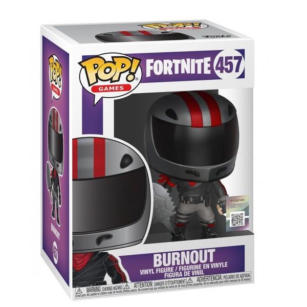 Фигурка Funko POP!  Fortnite: Burnout (Герой асфальта)