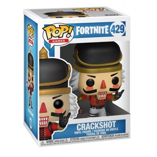 Фигурка Funko POP!  Fortnite: Crackshot (Щелкунчик)