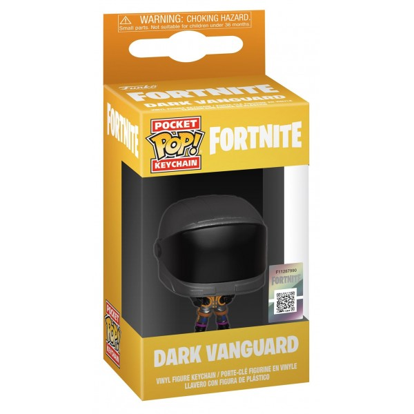 Брелок Funko Pocket POP!: Fortnite: Dark Vanguard (Темная странница)