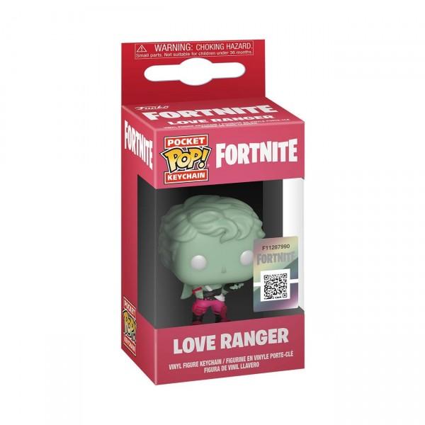 Брелок Funko Pocket POP!: Fortnite: Love Ranger (Рейнджер любви)