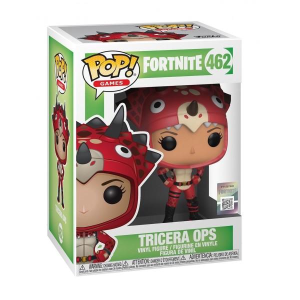 Фигурка Funko POP!  Fortnite: Tricera Ops (Спецназ юрского периода)
